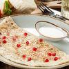 Фото к позиции меню Кутаб с сыром сулугуни и помидорами