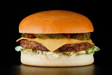 Чизбургер c курицей