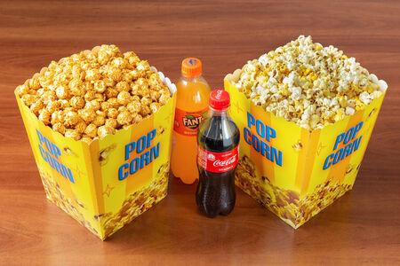 Суперкомбо с микс-попкорном