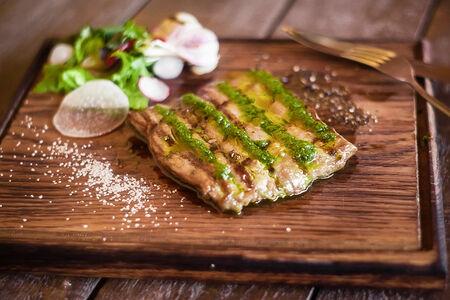 Мачете стейк из мяса бычков зернового откорма