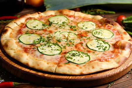 Пицца с цукини