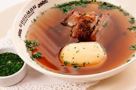 Суп с телятиной и картофелем