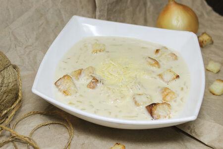 Суп Луковый со сливками