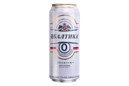 Пиво Балтика безалкогольное ж/б