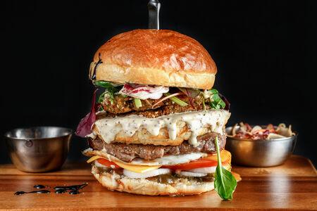 Дуэт бургер
