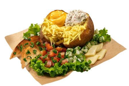 Картофель Премиум Четыре сыра