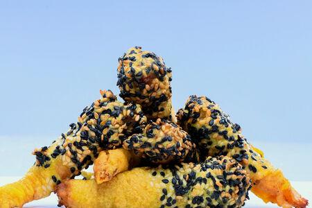 Креветки с соусом Сладкий чили