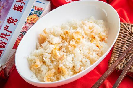 Жасминовый рис с креветками
