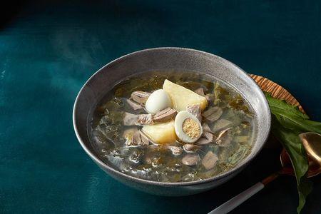 Щавелевый суп с потрошками
