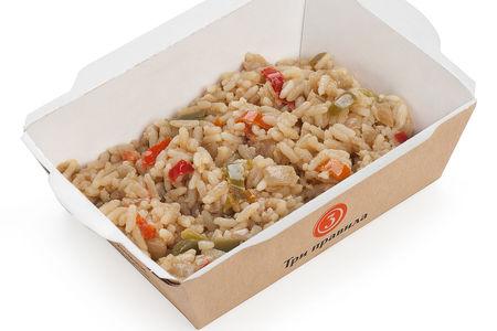 Рис по-азиатски в соевом соусе