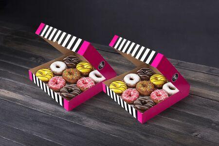 Набор 18 пончиков