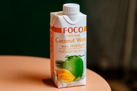 Кокосовая вода Foco Манго