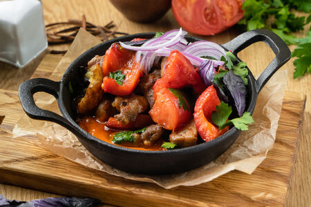 Оджахури со свининой по-тбилисски
