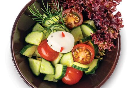 Салат овощной Мышка