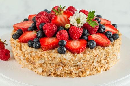 Торт Наполеон Ассорти