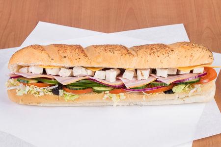 Сэндвич Курица бекон
