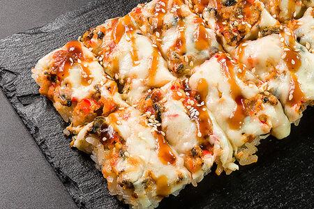 Пицца ролл с угрем