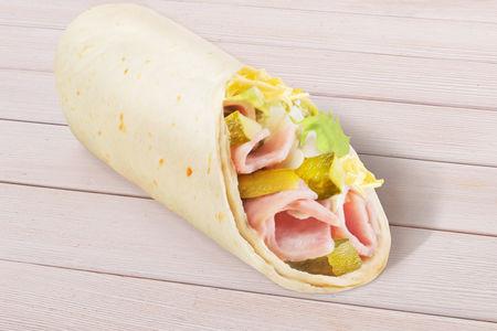 Сендвич-ролл с ветчиной