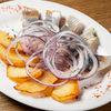 Фото к позиции меню Сельдь с картофелем и маринованным луком