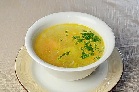 Суп Консоме с курицей
