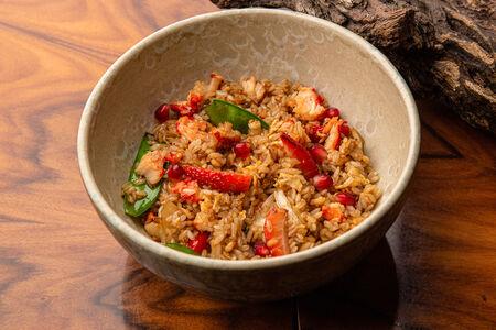 Рис с крабом