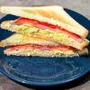 Фото к позиции меню Скрембл-сэндвич с ветчиной