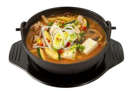 Суп Тендян тиге со свининой