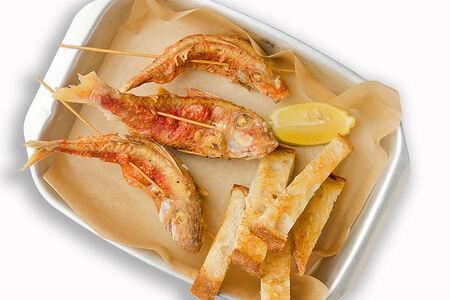 Рыба Мавританская барабулька фри