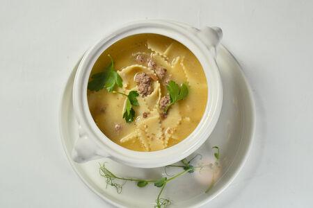 Суп Трюфельный с говяжьими фрикадельками
