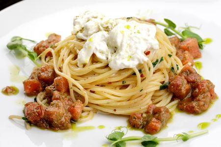 Спагетти Али Олио