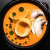 Фото к позиции меню Суп Биск с кальмаром