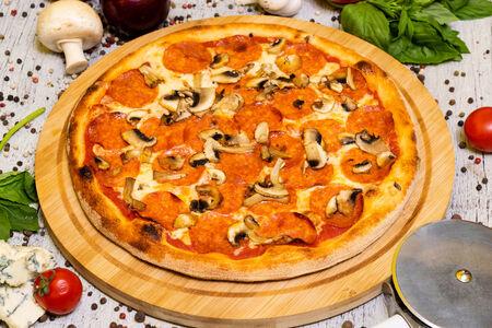 Пицца Грибная пепперони