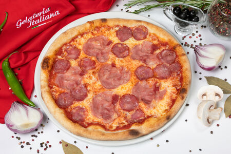 Пицца Прошутто салями пиканте
