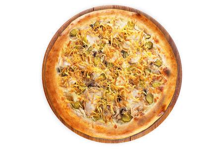 Пицца А Ля Русс на пышном тесте