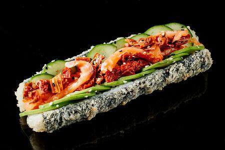 Хот-дог с лососем