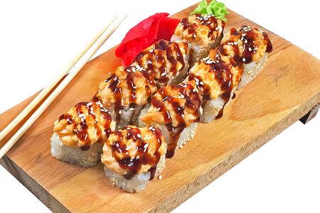 Ролл Сакура с лососем