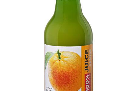 Сок натуральный апельсиновый