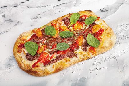 Пиццетта с телятиной и сладким перцем