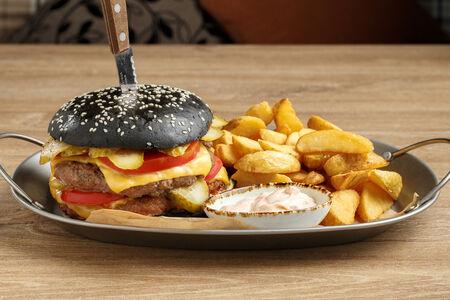 Бургер Black XXL