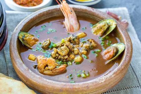 Суп Буйабес по-мароккански