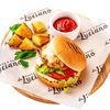 Фото к позиции меню Детский чизбургер