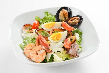 Салат Том Ям с морепродуктами