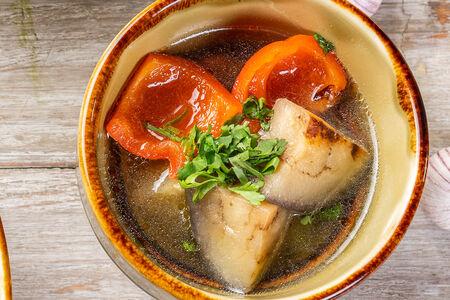 Овощной суп-гриль