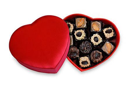 Набор конфет ручной работы Сердце