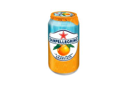 Напиток Sanpellegrino Aranciata апельсин