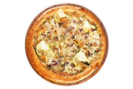 Пицца Мальто ди Маре на пышном тесте