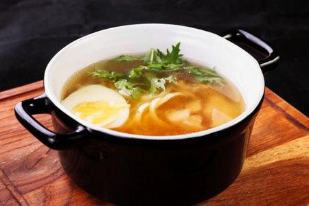 Суп Лапша с курицей гриль