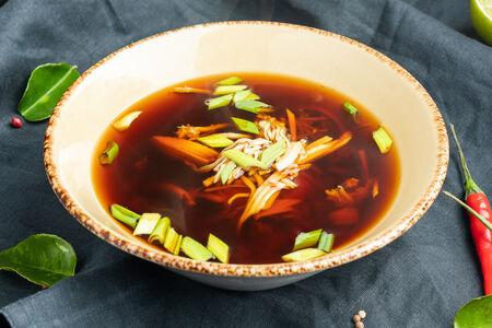 Суп Дзосуй с мясом краба