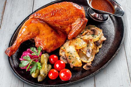 Курица по-баварски