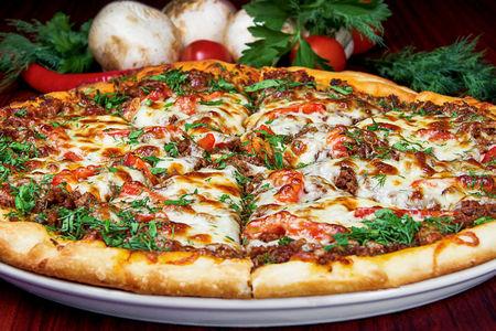 Пицца Щедрый мясник